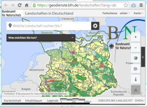 mapping service landscapes in Germany